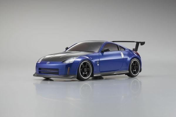 Karosserie Mini-z AWD Nissan Fairlady Z Nismo S-Tune blau mzp412mb