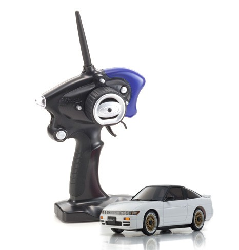 Mini-z AWD MA020 Sports | Allrad Kyosho | K.32136WB | NISSAN SILEIGHTY white black