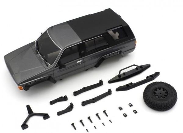 Karossserie Toyota 4Runner Grey Metallic Mini-Z 4X4 MX01