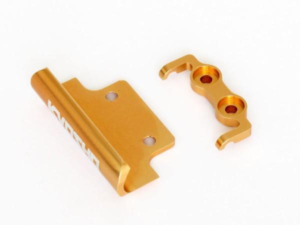 Stossfänger alu, gold Mini-z Buggy mbw029g