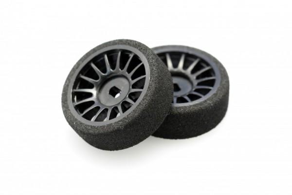 Felge+ Reifen Mini-z AWD front (8,5 mm) Moosgummi