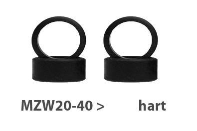 Reifen Mini-z Flat-Slick, 9.5mm (4) MZW20-40