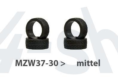 Reifen Mini-z Radial, 8,5mm (4) MZW37-30