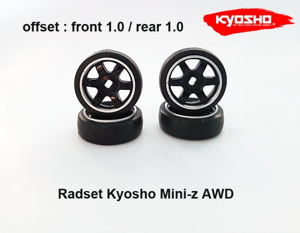 Rad Set Mini-z AWD