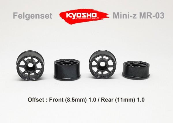Felgenset Mini-z MR-03 / Kyosho | gun | x24FS08
