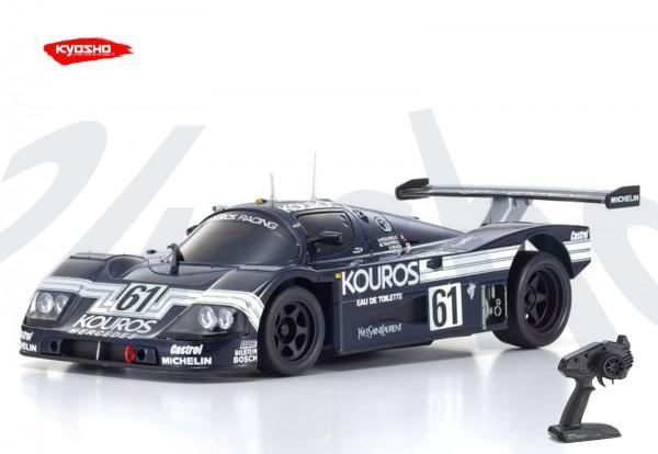 Kyosho - Mini-z RWD / Sauber-Mercedes C9 No61 1987 (W-LM/KT531P) / KT531P / K.32327KR