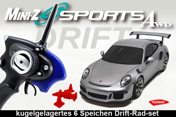 Mini-z Drift | Allrad Kyosho | Porsche 911 GT3
