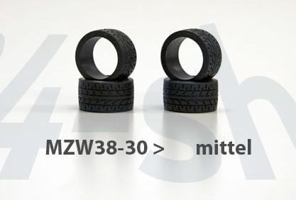 Reifen Mini-z Radial, 11mm (4) mzw38-30