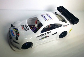Light Weight Clear Lexan Body for MR03/MRX (unpainted) XP-MRX-LB012
