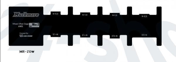 MR-ZOW / Mini-Z Wheel Offset Gage / Muchmore