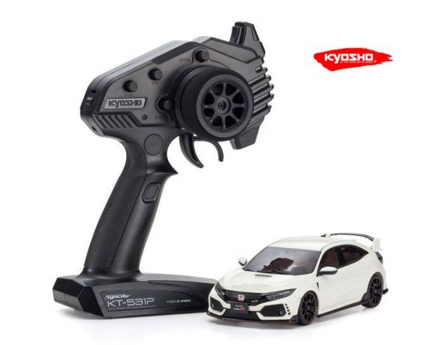 Miniz AWD MA020 Sports | Allrad Kyosho | K.32613W | Civic Type-R Weiss | KT531P