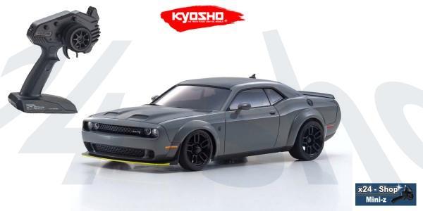 Kyosho   Mini-Z AWD   Dodge Challenger SRT Hellcat Redeye - destroyer gray (MA-020/KT531P)   32621G