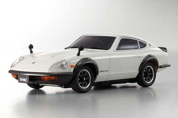 Karosserie Mini-z MR-03 Nissan 240 Z weiß - ohne Klarsichtbox mzp140w