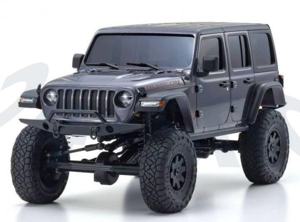 Mini-Z 4X4 MX-01 Jeep Wrangler Rubicon Granite Metallic ohne Fernsteuerung