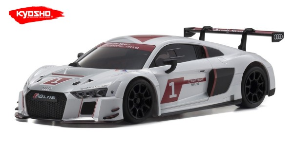 Mini-z Karosserie Mini-Z AUDI R8 LMS 2015 WHITE (W-MM) | Autoscale | K.MZP234AS