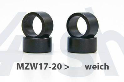 Reifen Mini-z Slick, 11mm (4) MZW17-20