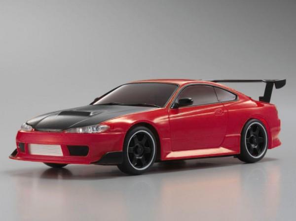 Ersatz Karosserie Mini-z AWD Nissan Silvia S15 red metallic