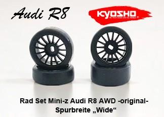 Radset Mini-z Audi R8 AWD LMS original