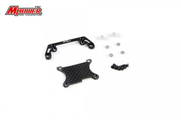 Front Lower Arm Set Wide Black mpower MA005K-W