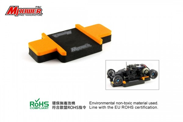 Foam Car Stand orange P1004OK