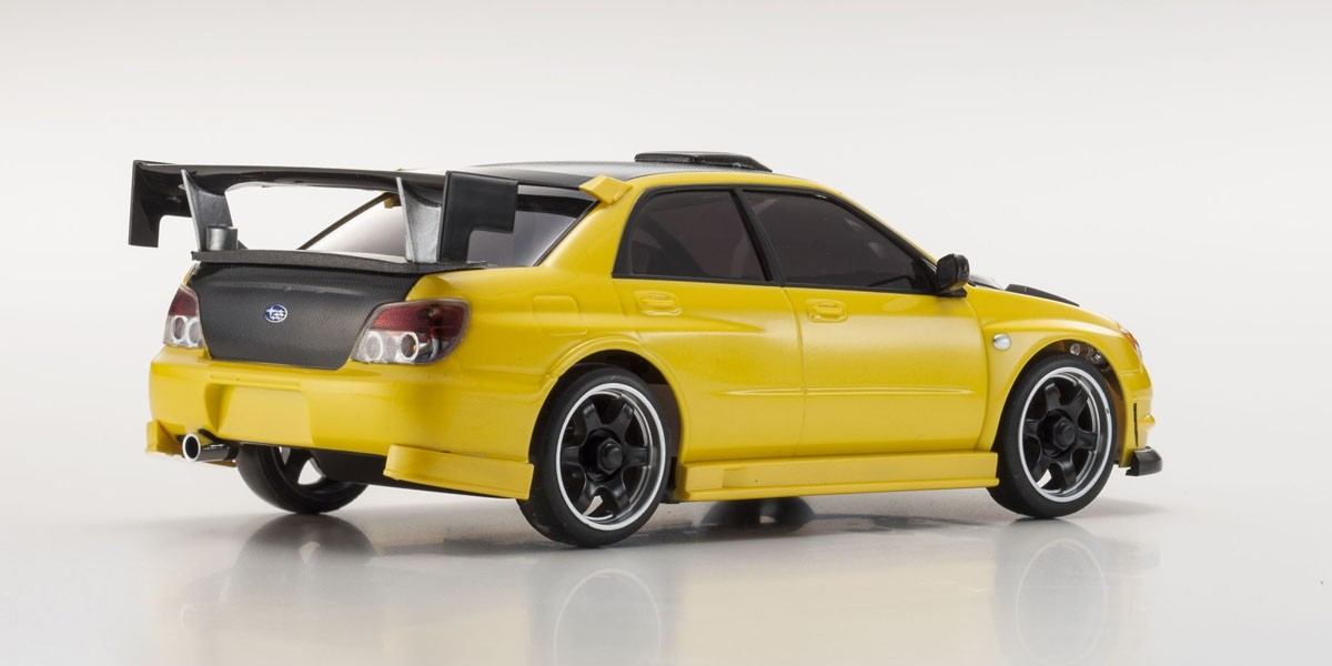 karosserie mini z mr 03 subaru impreza aero yellow. Black Bedroom Furniture Sets. Home Design Ideas