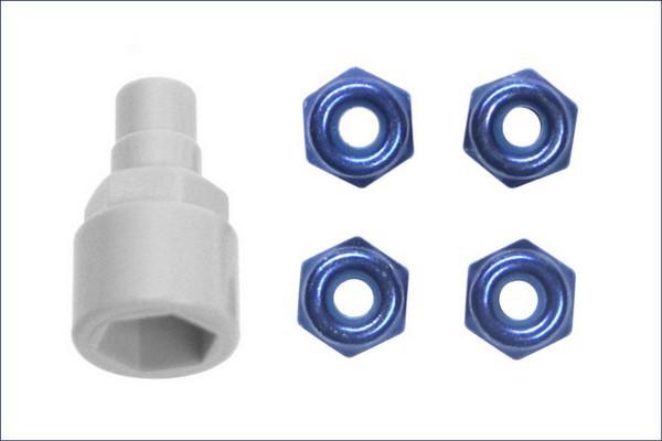 Stoppmuttern mini-z blau mzw13b