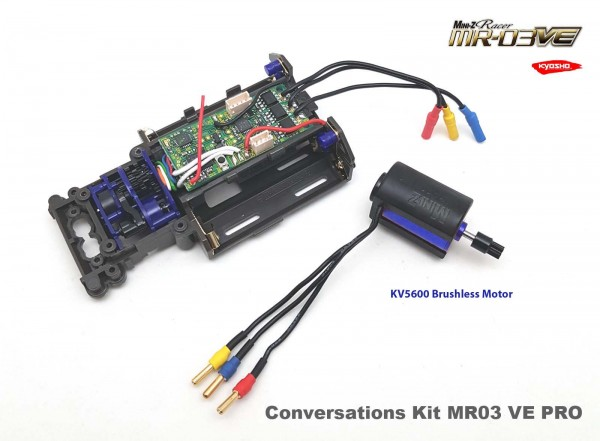 Mini-z MR03 VE Pro | Conversion-Kit 5600 | MR03 RWD | MR03 Sports | Umrüstsatz