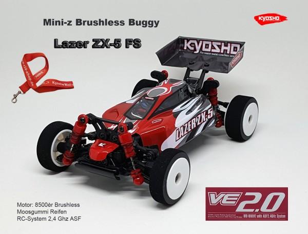 Mini-z Brushless Buggy#VE LAZER ZX-5 FS