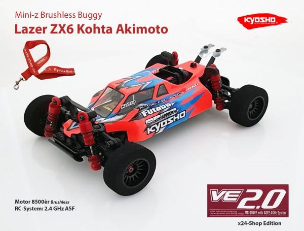Mini-z Brushless Buggy#VE / Kyosho MB-010VE / K.32291 / Brushless / LAZER ZX6 KOHTA AKIMOTO