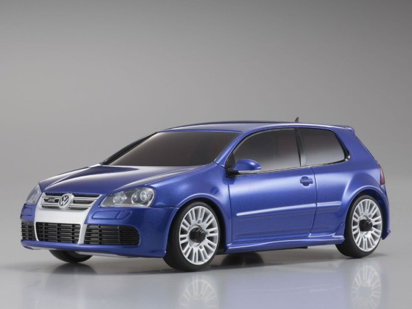 Karosserie Mini-z AWD VW Golf R32, blau mzx407-MB