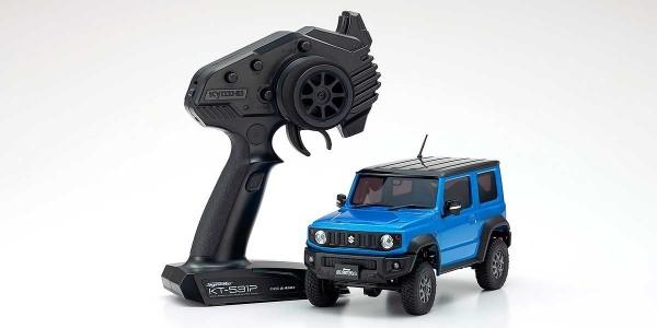 kyosho |Mini-Z Crawler | MX-01 Suzuki Jimny Sierra Brisk Blue | K.32523MB