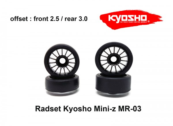 Radset (4) Mini-z MR-03 2530