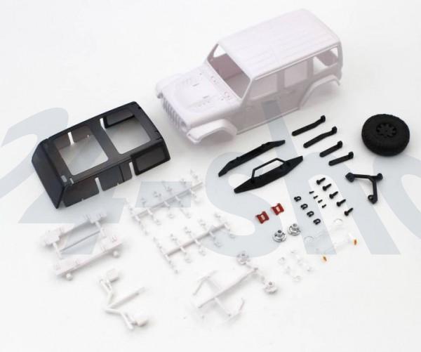 Chassis MINI-Z Crawler | K.MXN01 | Kyosho | Karossserie Jeep Wrangler Rubicon Mini-Z 4X4 MX01