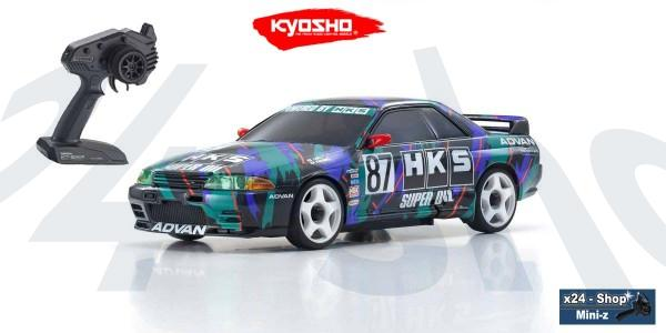 Mini-Z AWD Nissan Skyline GT-R R32 HKS (MA-020/KT531P) | K.32618HK