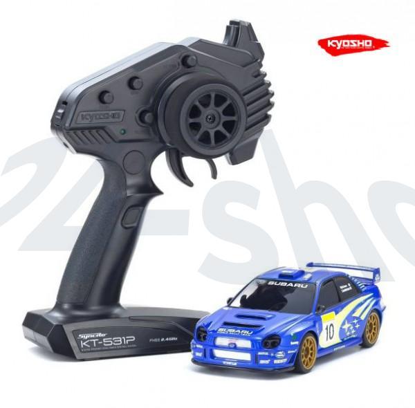 Miniz AWD MA020 Sports | Allrad Kyosho | K.32617WR | SUBARU IMPREZA WRC 2002 | KT531P