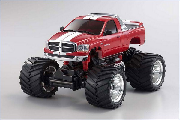 Karosserie Mini-z Monster MM-01 Dodge Ram 1500 rot