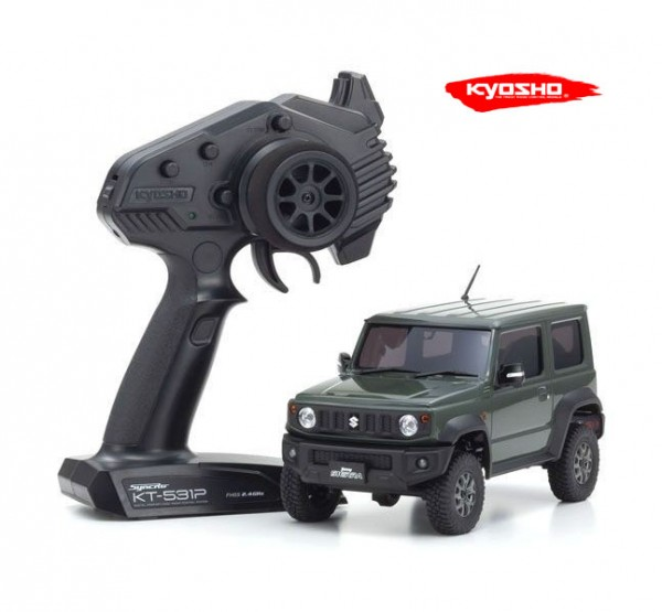 kyosho |Mini-Z Crawler | MX-01 Suzuki Jimny Sierra Jungle Green | K.32523GR