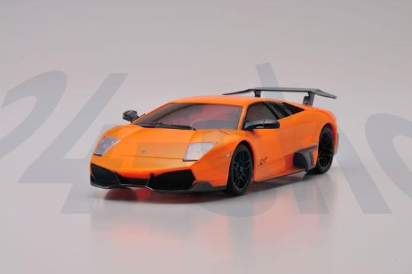 Karosserie Kyosho Mini-z / MR-03 Lamborghini Murcielago LP670-4 SV perl orange / K.mzp215po