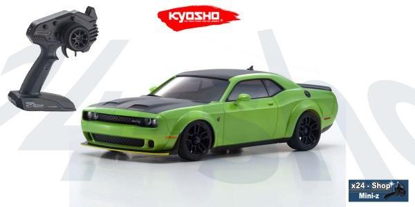 Kyosho   Mini-Z AWD   Dodge Challenger SRT Hellcat Redeye - sublime (MA-020/KT531P)   32621MG