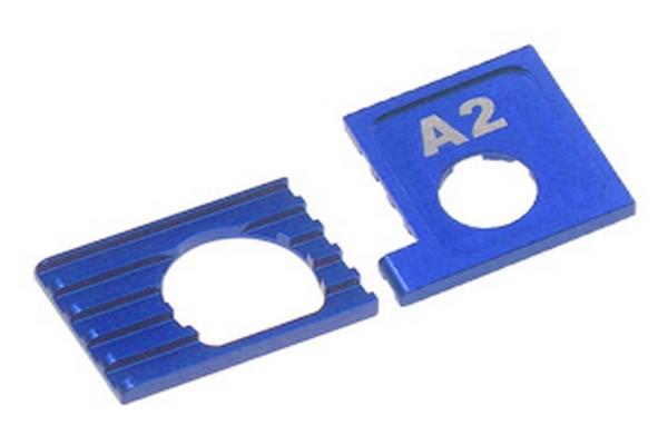 Motor Halterung Mini-z AWD A2 + B2 blue tc10908