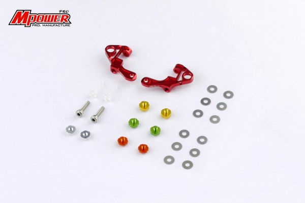 Front Upper Arm Set red mpower MAP001V2R