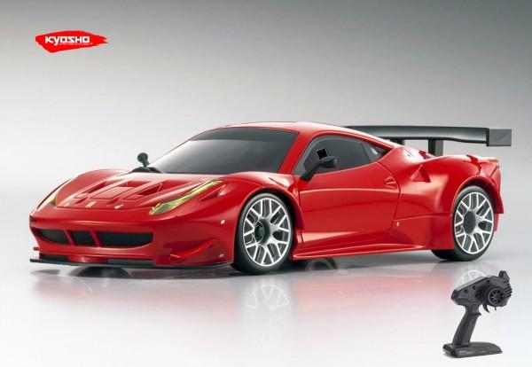 Kyosho | Mini-z RWD | Ferrari 458 Italia GT2 rot | KT531P | K.RWD221R |