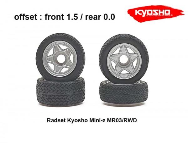 Radset (4) Mini-z MR-03 1.5 / 0 radial