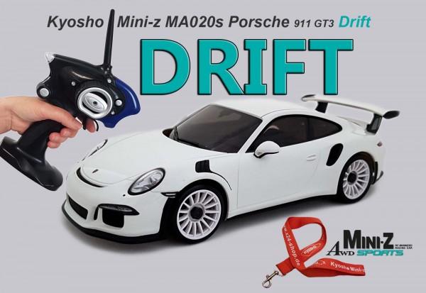 Mini-z Drift   Allrad Kyosho   Porsche 911 GT3