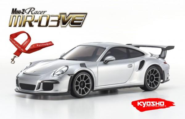 Mini-z MR-03VE BCS Porsche 911 GT3 RS silver