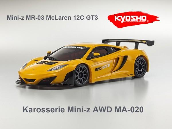 Karosserie Mini-z AWD McLaren 12C GT3, K.mzp226or