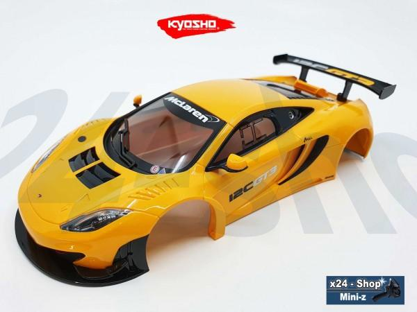 Ersatz Karosserie Mini-z MR-03 McLaren 12C GT3, orange MZP226ORx