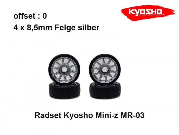 Mini-z / Felgen / Reifen / Subaru KX-1