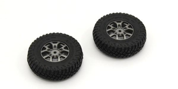 Chassis MINI-Z Crawler | K.MXTH002 | Kyosho | Verklebte Reifen (2) Suzuki Jimny Mini-Z 4X4 MX01