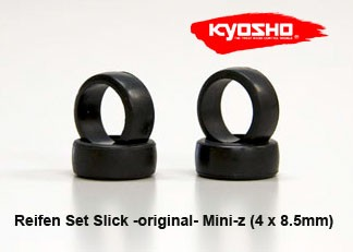 Mini-z Reifen Set original Slick 8.5mm